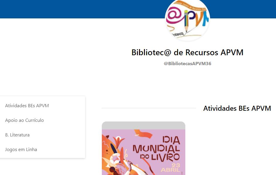 Bibliotec@ de Recursos APVM